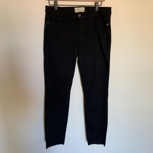 Current Elliot The Stiletto Step Cut Hem Jeans 31